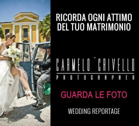 Carmelo Crivello - Fotografo Matrimoni