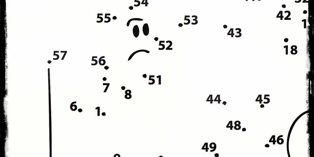 Scherzi matrimonio unisci i punti settimana enigmistica - Unire i numeri dei punti ...